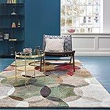 ESPRIT Modernina Moderner Markenteppich, Polypropylen, Mehrfarbig, 225 x 160 x 1.3 cm