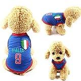 OWBB Haustier T-Shirt xs,Hunde Shirt kleine Hunde Baumwolle Atmungsaktiv,hundeweste Haustierkleidung Haustier Trikot Sommer Viele Farben