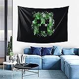 Mi-Necraft Wanddekoration, Wandteppich, exklusiver Wandbehang, Mehrzweck-Wandhintergrund Decke für Wohnzimmer, Schlafzimmer, Einheitsgröße