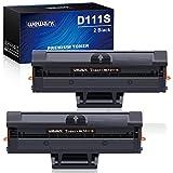 Wewant Toner D111S D111L Ersatz für Samsung MLT-D111S Tonerkartusche Kompatibel mit Samsung Xpress SL M2020 M2020W M2021 M2021W M2022 M2022W M2026 M2070 M2070W M2070F M2071, 2 Schwarz
