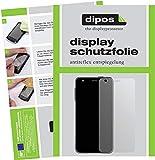 dipos I 2X Schutzfolie matt kompatibel mit Xido Z120 Folie Displayschutzfolie