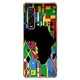 1001 Schutzhülle aus Silikon für Oppo Find X2 Pro – Flagge Afrik