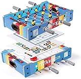 N/Z Tägliche Ausrüstung Tischfußball-Kombinationsspieltisch einschließlich Tischfußball/Eishockey/fliegendes Schach/chinesisches Schach Kinder 4 in 1 Mini-Spieltisch