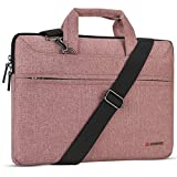 DOMISO 17 Zoll Laptop Tasche Hülle Notebooktasche Wasserdicht Aktentasche Tragetasche Schultertasche für 17.3' Dell Inspiron/MSI GS73VR Stealth Pro/Lenovo IdeaPad/HP Envy/LG Gram/ASUS ROG,R