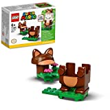 LEGO 71385 Super Mario Tanuki-Mario Anzug Power Up Pack, Erweiterungsset, Kostüm zum Drehen und Stamp