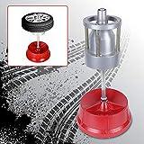 Kaibrite Auswuchtmaschine, Tragbare Auto Reifenwuchtmaschine Stahl & Kunststoff Auto LKW Tragbare Radnaben Wuchtmaschine für PKW und LKW