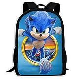 Sonic 02 Basic Reisetasche für Männer und Frauen, täglicher Rucksack für Schule, Klettern und andere Übungen