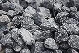 Ziersplitt Bruchstein grau 30-50 mm 25 kg Sack Splitt Gabionenfüllung Deko Garten