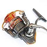 JKHOIUH Angelrolle Full Metal Spinnrad Fischereifahrzeug Meeresrolle Zahnradstange (Size : DL3000)