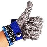 Sicherheits-Schnitt-Beweis-Stich-beständige Edelstahl-Maschen-Metzger-Handschuhe des Edelstahl-316 Hohe Leistungsfähigkeits-Sicherheits-Ausschnitt-Handschuhe für die Küche, die das Holzschnitzen
