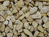 Ziersplitt 20 kg Sack Splitt Gabionenfüllung Deko Garten (Yellow Sun, 8-16 mm)