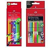 Faber-Castell Colour Grip radierbar 10er + 12er Sonderfarben