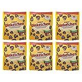 6er Pack Dr. Quendt Dinkelchen Zartbitter (6 x 85 g) Knabbergebäck Knabbersnack Knuspersnack DDR Ostproduk