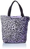 ONLY Damen ONLGIA Canvas Bag Shopper, Orchid Bloom/AOP:Black Print, ONE Size