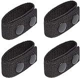 LUITON Duty Belt Keeper mit doppelten Druckknöpfen für 2¼'Wide Belt Security Tactical Belt Polizei-Militärausrüstung Zubehör (4er-Set)