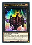 Konami - BLAR-DE022 Numeron-Tor Ekam - Ultra Rare - Yu-Gi-Oh! - Deutsch - mit GECO® Versandschutz