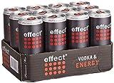 Vodka+effect® 0,33l Dose NEU 12x