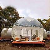 N/Z Campingausrüstung Aufblasbares Zelt Bubble House Familiencamping Hinterhof Transparente Luftkuppelzelte mit kostenlosem CE/UL-Gebläse und Reparatursatz