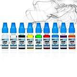Bemoliquid Premium E Liquid ohne Nikotin für E Zigarette | intensives Aroma Liquid | E-Shisha Zubehör | starke Dampfentwicklung | Gebrauchsfertig | Dampfer Liquid (Tuscan Blend)
