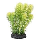 TAKE FANS Künstliche Wasserpflanze für Aquarien, Kunststoff, lebendig, hellgrün, langlebig