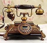 TAIDENG Dekorative Telefon Ornamente Geschenk für wohnkultur [Mode], [erstellung], europäisch [ländlich] Stil, Dekoration, [Retro], kabelgebunden - EIN Hause Schreibtisch dekor Ornament