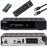 Anadol HD 202c Plus PVR Aufnahmefunktion-Timeshift (Schwarz) digitaler HDTV 1080p Kabel-Receiver [Umstieg Analog auf Digital] (HDTV, DVB-C / C2, HDMI, SCART, Coaxial, Mediaplayer, USB 2.0)