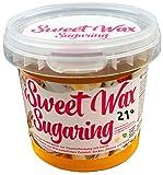 Sweet Wax 21° - Gold - 449g Natürliche Sugaring Zuckerpaste zur Haarentfernung per Hand. Für Temperaturen unter 21° und erfahrene Anwender. Brazilian Wax zur enthaarung für zuhause.