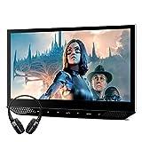 "XTRONS 1 Stück 13,3""tragbar Auto Multimedia Player für Kopfstützen IPS 1080p Bildschirm Headrest mit HDMI Port USB/SD Slot FM Transmitter mit verstellbar Blickswinkel Dünn (HM131HD+BH002)"