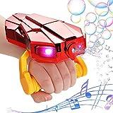 vamei Seifenblasenmaschine Kinder Bubble Machine Automatischer Seifenblasen Spielzeug Kinder Seifenblasen mit Musik Geburtstag Geschenk