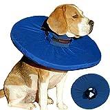 Tepaw Premium Halskrause für Hunde und Katzen (Gr. 2) Made in EU | Kragen geeignet als Leckschutz und Schutzkragen | Patentierter Komfort und Schutz nach Operationen und Verletzungen | Halskragen aus Stoff