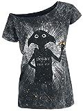 Harry Potter Dobby is A Free Elf Frauen T-Shirt schwarz S 100% Baumwolle Fan-Merch, Filme