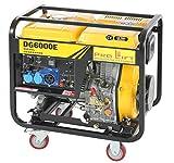 Pro-Lift-Montagetechnik Stromerzeuger Diesel Notstromaggregat 5,5kW 230V Stromaggregat E-Starter 02446