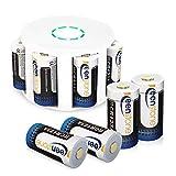 Arlo Akkus, Keenstone 8 Stücke 3,7V 700mAh Arlo Kamera Akkus mit Batterie Gehäuse/Kamera Hülle