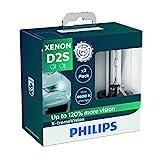 Philips 85122XVS2 Xenon-Scheinwerferlampe X-tremeVision D2S, Doppelset