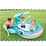 ZZXUAN Play Center - Kinder Aufstellpool - Planschbecken,Walschwimmbad, Ausgestattet Mit Verschiedenen Kleinen Spielsachen und Zubehör, Geeignet für Outdoor, Garten usw.