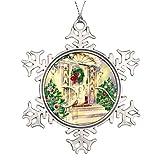 Weihnachts-Ornamente, Vintage-Weihnachtshaus-Ornament, Baum-Dekoration, Geschenk für Familien und Freunde, 7,6 cm