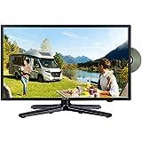 Gelhard GTV1982PVR LED Fernseher 19 Zoll TV DVD DVB-S/S2/T/T2/C 230/12 Volt / 24 Volt