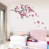 Chinatera Kirschblüte Wasserdicht Wandaufkleber Hintergrund für S