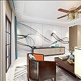 Bambus und Holzfaser integrierte Wandpaneel Wohnzimmer TV Hintergrundwand 3D Marmor neues chinesisches Wandbild Nordic Light Luxus Anpassung-250x175cm