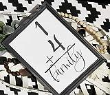 St234tyet Familiennummernschild, Holznummernschild, Hausnummernschild, Familiengrößenschild, Bauernhausstil-Zahlenschild, Galerie-Wandschild, Karteikartenschild.