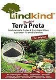 Lindkind Terra Preta 80 Liter (4 Säcke) biodynamisch gärtnern, fruchtbare Böden, zugelassen für den Biolandbau Erde Düng