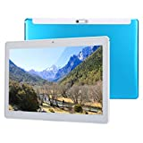 Blau Tablette 10 Zoll HD-Bildschirm 1280x800 Bildschirmauflösung 1GB+32GB Leicht Hohe Festigkeit Android-Tablets mit Dual-SIM-Karten Zweifachkamera für BBC/ITV-Player/Skype/Facebook(EU-Stecker)