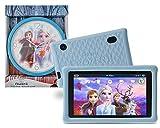 """Pebble Gear 7"""" Kids Tablet Bundle mit Die Eiskönigin 2 - Wanduhr, 7 Zoll HD Display, kindgerechte Hülle im Die Eiskönigin 2 Design, inklusive Elternkontrolle, Spielen, E-Books, App"""