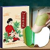 Moxibustion Patch, 20 Stück, grünes Moxa-Pflaster, Knie, selbstheizend, chinesisches Kräuter, Akupuntura, Beinpflaster, Wermholz, Beugkraut