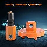 Raguso Werkzeug zum Entfernen des Kupplungswerkzeugs Universal-Kolbenstopp-Kettensägen Teile Demontage-Werkzeug zum Entfernen des Kupplungsschwung