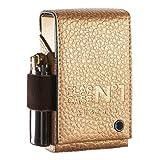 FLAPCASE N°1 • NIKA • Designer Zigarettenetui Leder mit Samtgummi, Made in Austria, Zigarettenbox für 19, 20, 21 Zigaretten Packs, regular King-Size