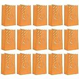 OSALADI 20 Stück Halloween-Kürbis-Papierlaternen, ausgehöhlte Kerzentüten, romantische Party-Requisiten