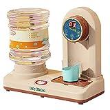 Kinder Wasserspender Set, Pretend Play Kitchen Set, Küche Appliance Toys Tolles Lernen Geschenke für Kinder Mädchen Jungs (Color : Red)