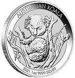 Koala 2021 Silbermünze Silber Münze 1 Unze 1 oz in Münzkapsel