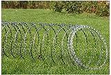 Maschendraht Zaun Verzinkter Stacheldrahtzaun, korrosionsbeständig, nicht leicht zu rosten, langlebig, kann für den Schutz von Bauernhöfen und Gemüsegärten verwendet werden, um zu verhindern, dass Au